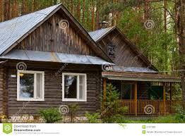 smallhouse beautiful small house in the woods stock photo image 57521680