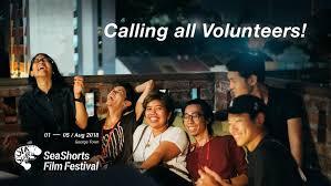 Volunteer  SeaShorts2018  Next New Wave