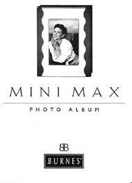 burnes photo albums burnes of boston 4 x 6 mini max photo album wavy nickel factory