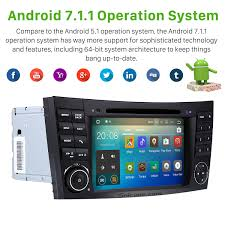 android 7 inch car dvd player for 2004 2011 mercedes benz cls w219