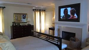 Bedroom Furniture With Hidden Tv Cool Hidden Tv Above Fireplace Small Home Decoration Ideas