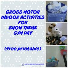 Winter Decorations For Parties - gross motor winter wonderland activities for parties or homeschool
