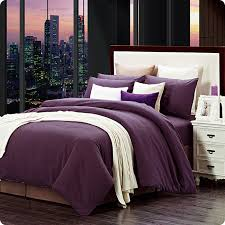 Plum Bed Set Plum Purple Duvet Covers Sweetgalas