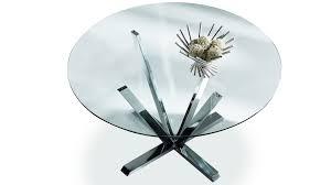 table de cuisine moderne en verre table ronde cuisine design la chaise design le petit plus de ma dco