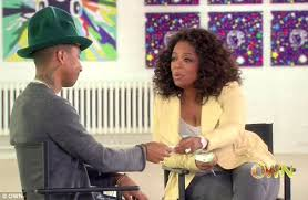 pharrell williams cries tears of joy on oprah interview daily