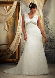 plus size wedding dress designers mori madeline gardner bridal venice lace plus size