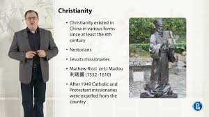 christianity in china higher of economics coursera