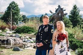 photographers colorado springs mikia dustin pro rodeo of fame wedding gibson