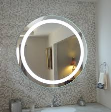 round mirror with lights carpetcleaningvirginia com