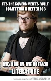 How To Find Memes - hipster barista can t find a better job the meta picture