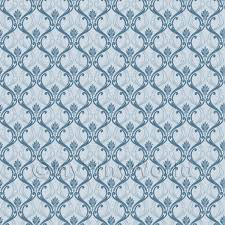 Wallpaper For House by Patterned Wallpaper Dolls House Miniature Mytinyworld