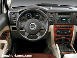 2006 jeep liberty trail jeep horizons all 2006 jeep commander expands jeep lineup