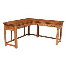 Oak Laptop Desk Traditional Oak Laptop Desk And Return Barr S Furniture The