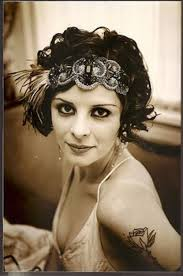 roaring 20s hair styles the roaring twenties 1920s fashion 20th century fashion blue17