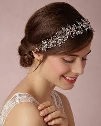 prom hair accessories wedding bridal bridesmaid gold silver rhinestone
