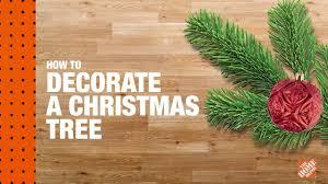 how to decorate a christmas tree christmas tree lighting youtube