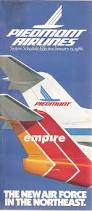 Spirit Airlines Route Map airline timetables piedmont airlines january 1986