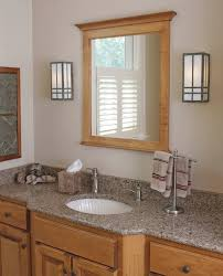 Craftsman Bathroom Lighting Lovable Arts And Crafts Bathroom Lighting New Craftsman Bathroom