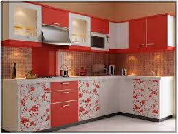 red and white kitchen designs kitchens beautiful modular kitchen design idea with red white