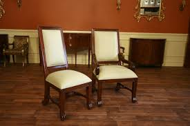 large mahogany dining room chairs luxury chairs upholstered