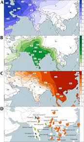 Genetic Maps Of Europe by Most Of The Extant Mtdna Boundaries In South And Southwest Asia