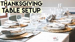 thanksgiving tablescape with ikea free printables youtube