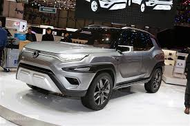 ssangyong ssangyong xavl concept showcased in geneva previews bright suv