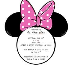 minnie mouse head outline cliparts