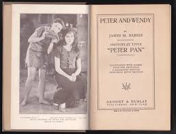 peter pan story peter wendy photoplay edition