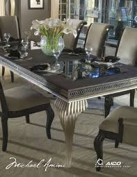 Aico Furniture Dining Room Sets Swank Dining