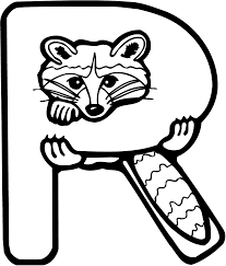 excellent raccoon coloring page 67 9459