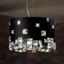 black crystal pendant light black crystal pendant light mosaix lights co uk