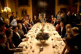 dinner for eight at the real downton abbey highclere castle