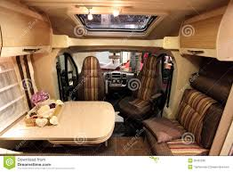 motor home interiors interior of a modern motorhome editorial stock photo image 26452538