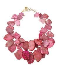 light pink necklace images Nest jewelry chunky light pink jasper necklace jpg