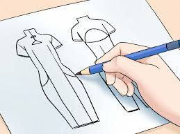 the simplest way to draw fashion sketches wikihow