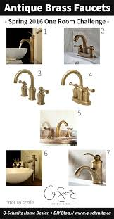 custom ikea vanity antique brass faucets orc week 5 madness