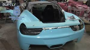 replica ferrari 458 italia shop busted for selling fake ferraris and lamborghinis in spain