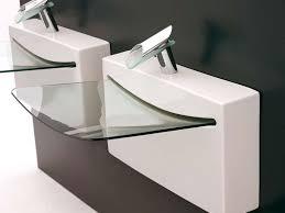 Tiny Bathroom Sink by Best 25 Glass Basin Ideas On Pinterest Modern Powder Rooms