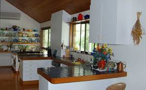 homestead kitchen scenic rim accommodation