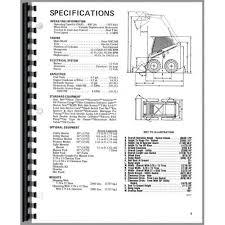 gehl hl 4400 skid steer wiring diagram national crane wiring
