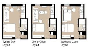 floor layouts 5 smart studio apartment layouts apartment therapy