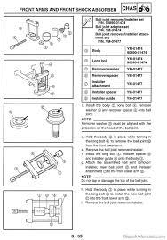 2004 u2013 2007 yamaha yxr660f rhino side x side service manual
