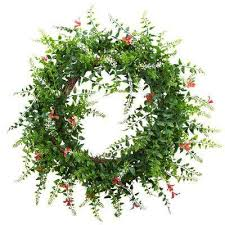 decorative wreaths artificial plants flowers the