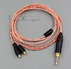 usd 25 00 2 5mm trrs balanced soft ofc shielding earphone cable