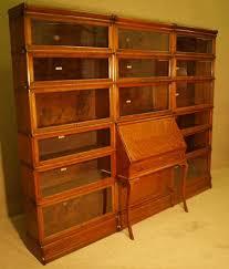 library bureau globe wernicke library bureau bookcase 179031