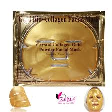Collagen Mask 24k gold collagen mask zahmal cosmetics