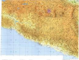 Acapulco Mexico Map by Download Topographic Map In Area Of Mexico City Puebla