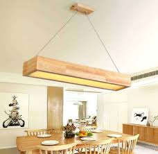 Wooden Chandelier Modern Rectangular Wood Chandelier Motor1usa