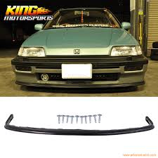 fit for 1988 1989 1990 1991 honda civic 3 4dr si style front
